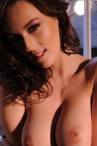 Lauren Wood Loves Being Topless