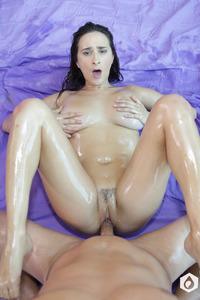 Giant Boobs Pornstar Ashley Adams Fucks In Jacuzzi