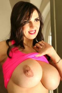 Stunning Big Boobed Model Sarah Genova
