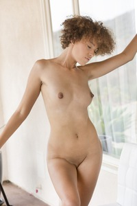 Small Titted Babe Shelia J Teases