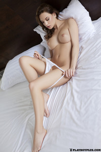 Playboy Babes Strips In Bedroom