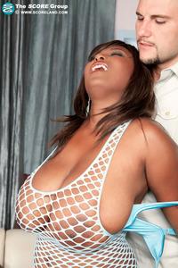 Massive Tits Ebony Marie Leone Get Fucked