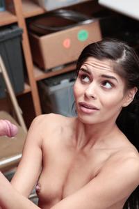 Katya Rodriguez Sucking Cock From Santa