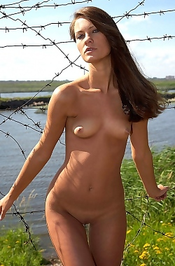 Evginia Posing Nude