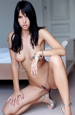 Monika Vesela Natural Girl Posing Nude