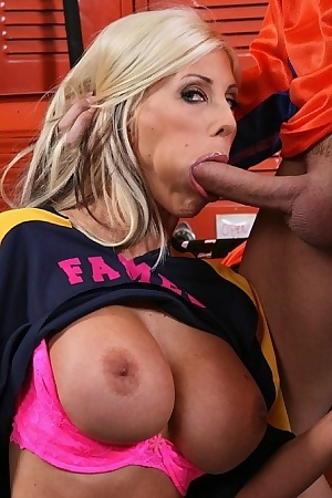 Puma Swede flashes her titties and wins the hockey game