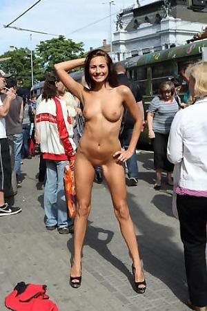 Michaela Isizzu Nude In Public