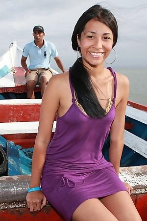 Ruth Medina Out On The Sea