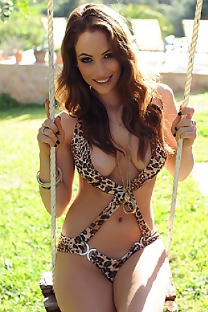 Anastasia Harris Strips Nude