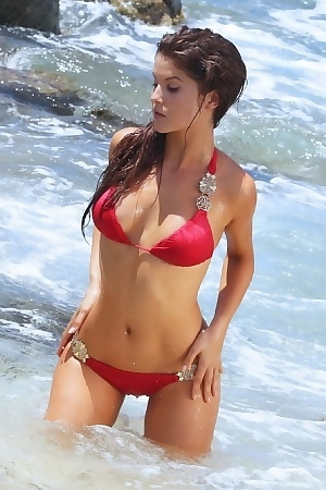 Amanda Cerny Hot Brunette Babe