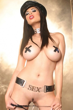 Tera Patrick Is One Dirty Cop