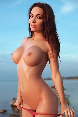 Adrienn Levai Big Breasts At Dusk