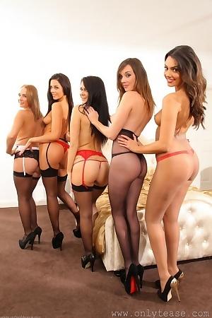 Abigail, Felicity, Rachel, Jo & Jayne