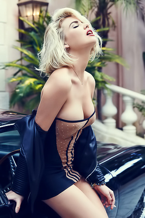 Kayslee Collins Makes Naked High Fashion