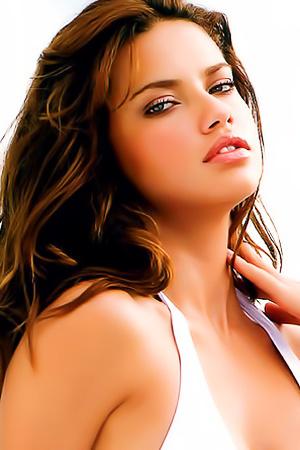 Top Victorias Secret Angel Adriana Lima Is Topless