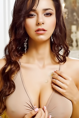 Helga Lovekaty Russian Model