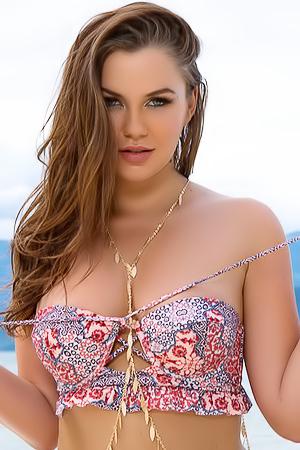 Ashleigh Rae On The Beach
