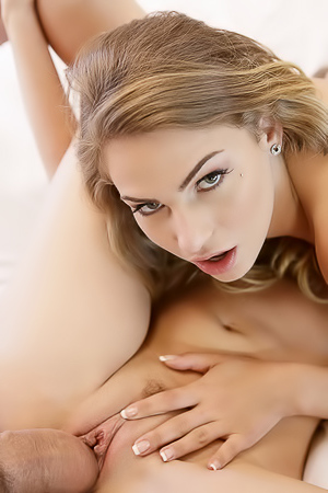 Gia Paige And Sydney Cole In Hot Threesome