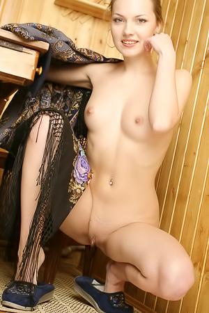 Sexy Teen Sveti Poses Naked