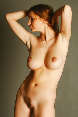 Nude Art Model Maria D