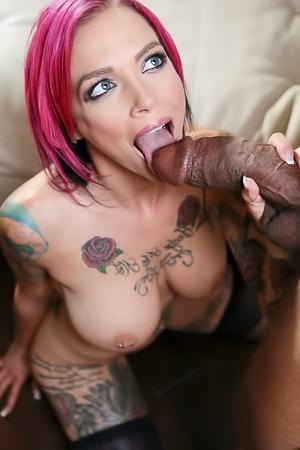 Wild Pornstar Anna Bell Peaks Interracial Fucked