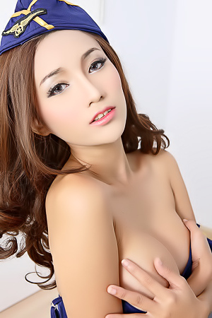 The Hottest Asian Stewardess Ramita