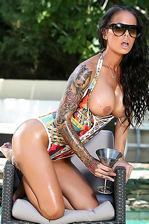 Brandy Aniston By The Pool