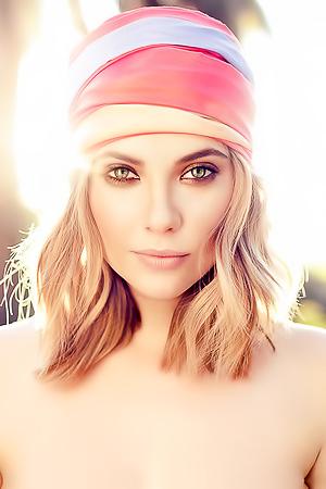 American Actress And Model Ashley Benson