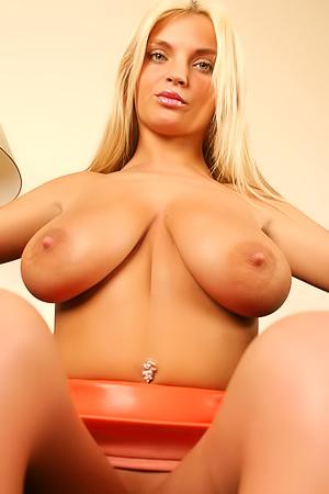Busty Blonde Polish Babe