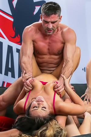 All Star Orgy With Hot Pornstar Adriana Chechik