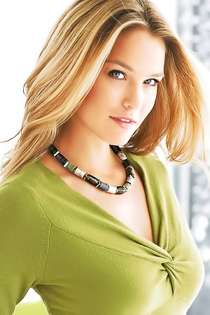 Identikit Blonde Lingerie Model Bar Refaeli