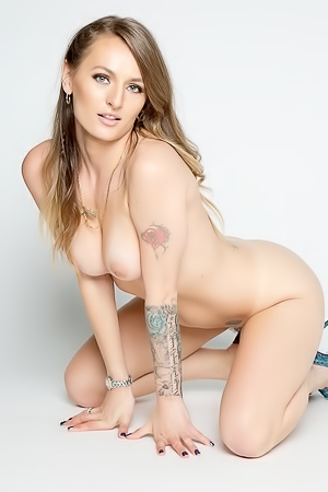 Natasha Starr In Pastel Bodysuit