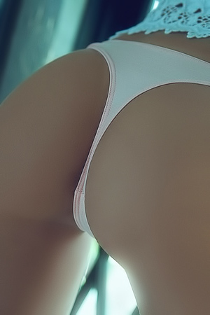 Ariana Marie In Perfect Reflection