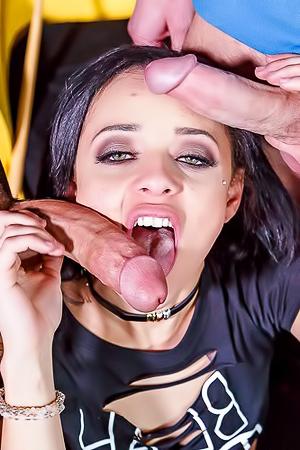 Holly Handrix Dirty Teen Pool Slut