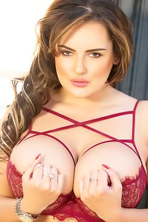 Busty Bunny Katie Thornton
