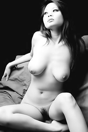 Nude Art In Black And White.