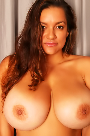 Monica Mendez - Natural Massive Size