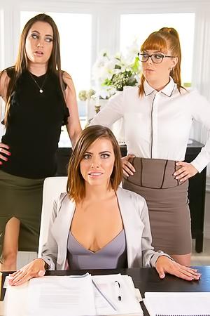 Lesbian Boss Pleasures