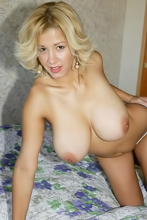 Blonde MILF with Big Naturals