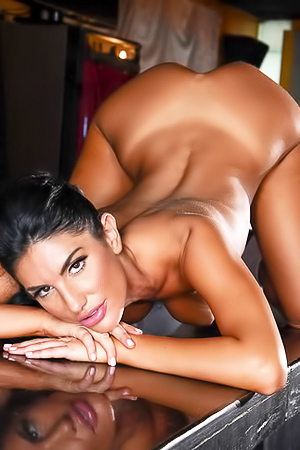 August Ames Enjoys Showing Her Nude Body