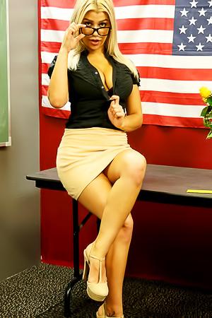 Briana Lee Like Hot School Teacher