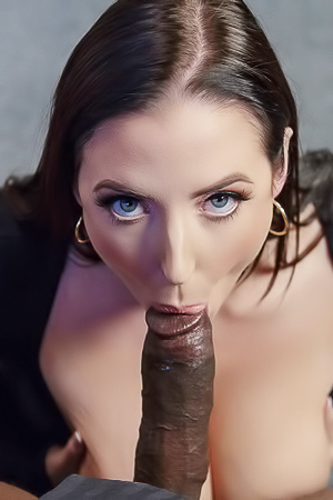 Big Boobs Pornstar Angela White Gets Facial