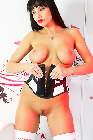 Marta In French Corset