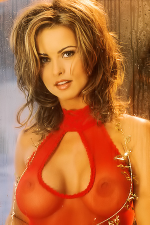 Erotic Playboy Model Karen McDougal Stripping