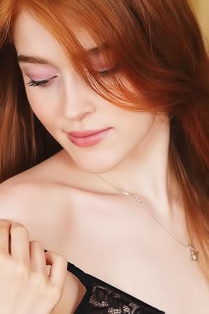 Hot Russian redhead Jia Lisa