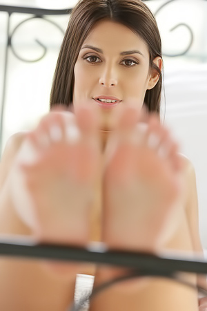 Foot Lover And Angela Allison