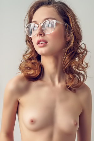 Teen Girl With Glasses Clarice