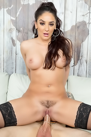 Sheena Ryder Squats On A Dick