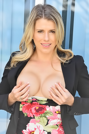 Cory Chase Pleasures Her Pussy