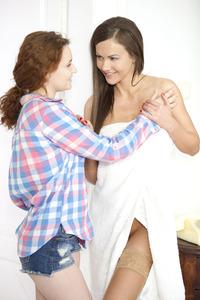 Shelley Bliss And Tina Kay Licking Lesbians